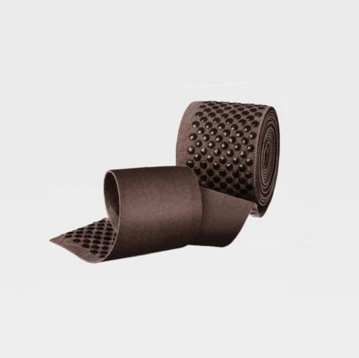 Чулки с простой резинкой на силиконовой основе IDEALISTA ID-310TW с закрытым носком полупрозрачные на широкое бедро