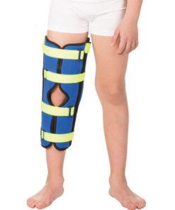Бандаж Детский на коленный сустав для полной фиксации (тутор) Тривес Т-8535