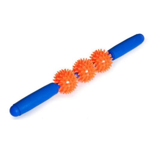Мячи игольчатые с ручкой (3 маленьких мяча) Арт. М-403