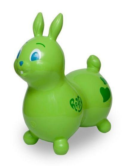 "Мяч ""Raffy"" (Зайчик) зеленый Арт. 80.08 80.09"