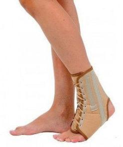 Бандаж на голеностопный сустав на шнуровке Арт. Т-8608