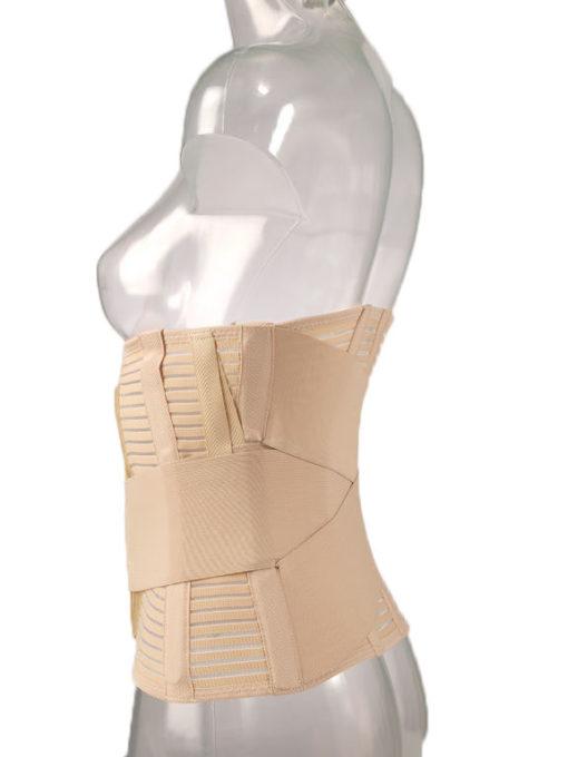 Бандаж поясничный облегченный сетчатый с упругими пластинами и эластичными лентами Арт. FS-5506