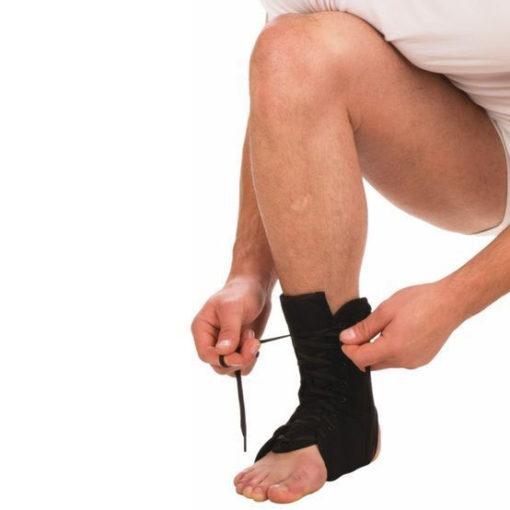Бандаж на голеностопный сустав на шнуровке Арт. Т-8608/1