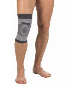Бандаж компрессионный на коленный сустав с силиконовым кольцом Тривес Т-8520