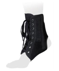 Бандаж на голеностопный сустав со шнуровкой и ребрами жесткости Арт. AS-ST