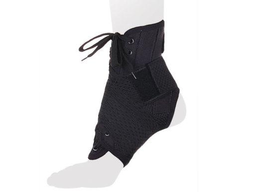 Бандаж на голеностопный сустав со шнуровкой и ребрами жесткости Арт. AS-ST/M