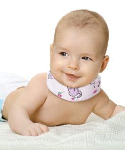 Бандаж шейный (шина Шанца), Для новорожденных, 3,5см. ОВ-002