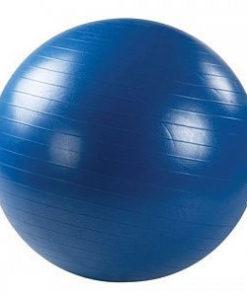 Мяч гимнастический синий с ABS ОРТОСИЛА L 0775b, диаметр 75 см