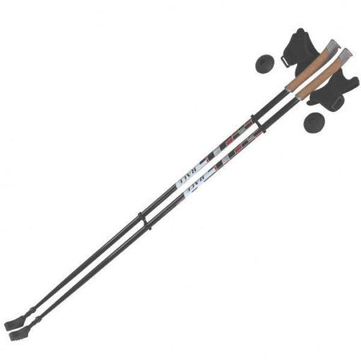 Палки для скандинавской ходьбы Ergoforce Арт. Е 0676 (фиксированной длины)