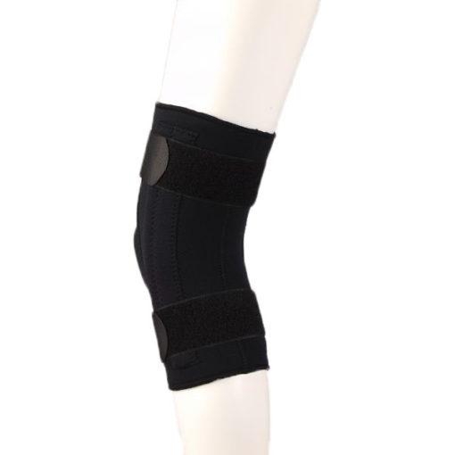 Ортез коленного сустава неразъемный, с боковыми усиливающими пластинами Fosta Арт. F 1291