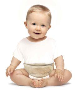 Бандаж противогрыжевой пупочный, для детей до 3 лет Арт. ГП-001