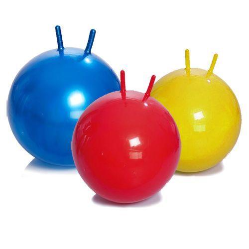 Мяч детский (фитбол) с рожками (диаметр от 45 до 65 см) М-345, 355, 365