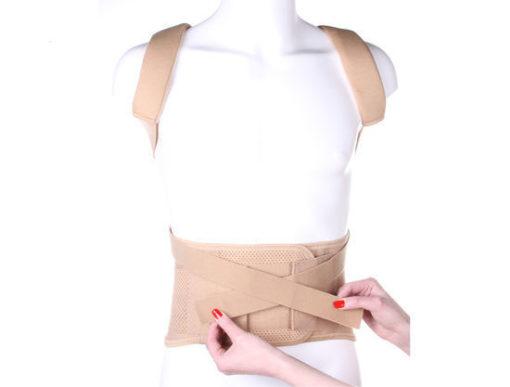 Корректор осанки грудопоясничный усиленный для взрослых Арт. КК-02