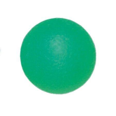 Мяч для тренировки кисти полужесткий зеленый ОРТОСИЛА Арт. L 0350М, диам. 5 см