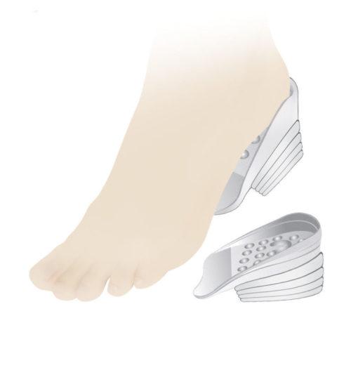 Подпяточник силиконовый ортопедический для коррекции разной длины ног Арт. Lum710