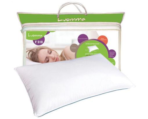 Подушка классическая с эффектом памяти Luomma LumF-518 (45х65 см)