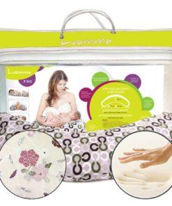 Подушка для беременных и кормящих женщин Арт. LumF-512. Размеры: 170х38 см / 190х38 см