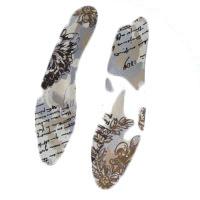 Стельки ортопедические сверхтонкие для модельной обуви с тканевым хлопкосодержащим покрытием Арт. ORTO Belle