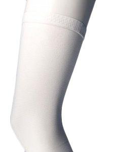 Чулки антиэмболические Ergoforma EU 247, 2 класса компрессии, белые