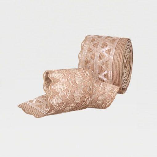 Чулки с ажурной резинкой IDEALISTA ID-301