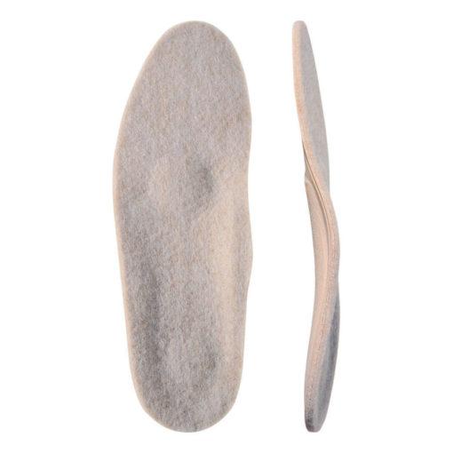 Стельки ортопедические Каркасные с покрытием из натуральной шерсти «Зима Элит» Арт.50T