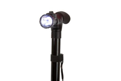 Трость опорная складная с фонариком «ОПОРА-КОМФОРТ» BRADEX KZ 0442
