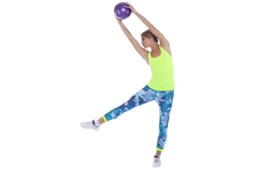 Мяч для фитнеса, йоги и пилатеса «ФИТБОЛ-25» BRADEX SF 0236
