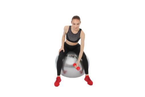 Мяч для фитнеса «ФИТБОЛ-55» с насосом BRADEX SF 0241