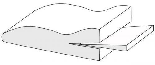 Подушка ортопедическая под ноги Т.307 (ТОП-107)
