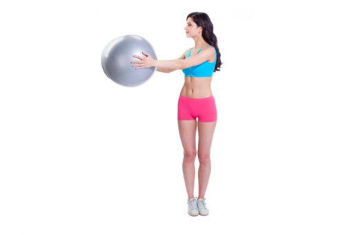 Мяч для фитнеса «ФИТБОЛ-АРАХИС» BRADEX SF 0171