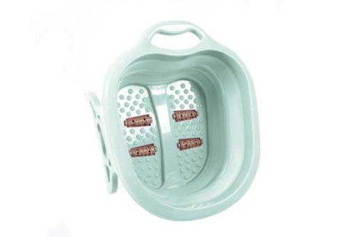 Складная ванночка для ног «Блаженство», бирюзовая, лавандовая, персиковая BRADEX KZ 0642, KZ 0643, KZ 0644