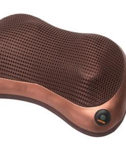 Массажная подушка «ШЕЯ, ПЛЕЧИ, СПИНА», коричневая, красная BRADEX KZ 0473, KZ 0474