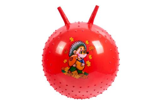 Детский массажный гимнастический мяч, фиолетовый, красный, синий, желтый, розовый.