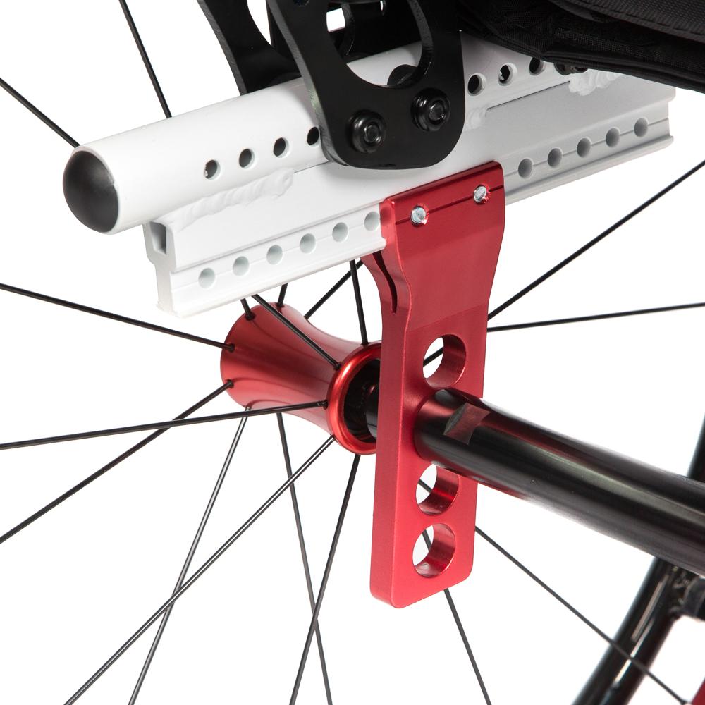 Задние колёса, регулируемые по горизонтали и вертикали